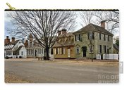 Duke Of Gloucester Street In Williamsburg Carry-all Pouch