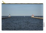 Duluth N And S Pier Lighthouses 5 Carry-all Pouch