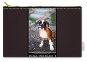 Dumb Bee Eater Boxer I Carry-all Pouch
