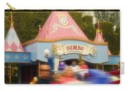 Dumbo Flying Elephants Fantasyland Signage Disneyland 02 Carry-all Pouch