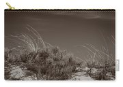 Dune And Blue Sky Carry-all Pouch