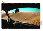 Dune Bashing In The Empty Quarter Carry-all Pouch