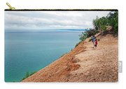 Dune Over Lake Michigan At Pyramid Point In Sleeping Bear Dunes National Lakeshore-michigan Carry-all Pouch