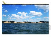 Dunes And Lake Michigan Carry-all Pouch by Michelle Calkins