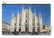 Duomo In Milano. Italy Carry-all Pouch by Antonio Scarpi