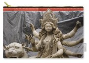 Durga In Kumartuli Carry-all Pouch by Shaun Higson