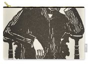 Emile Durkheim Carry-all Pouch