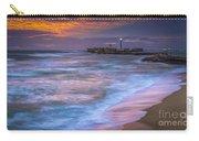 Dusk At La Caleta Beach Cadiz Spain Carry-all Pouch