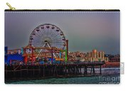 Dusk At The Santa Monica Pier Carry-all Pouch