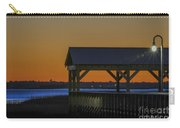 Dusk Hues Of Orange Carry-all Pouch