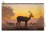 Dusk In Kenya Carry-all Pouch