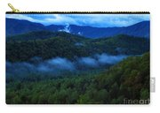 Dusk In The Smoky Mountains   Carry-all Pouch
