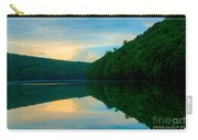 Dusk On Crescent Lake Carry-all Pouch
