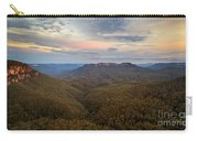 Dusk Over Mount Solitary Carry-all Pouch