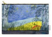 Dusky Scene Of Stars And Beans Carry-all Pouch