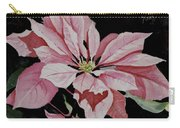 Dustie's Poinsettia Carry-all Pouch