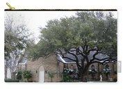 Dusting Of Snow At Church On Pennsylvania St Fort Worth Tx Carry-all Pouch