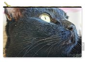 Dusty Black Cat Carry-all Pouch