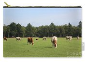 Dutch Landscape With Cows Carry-all Pouch