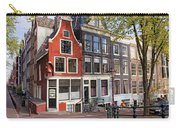 Dutch Style Traditional Houses In Amsterdam Carry-all Pouch