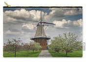 Dutch Windmill The Dezwaan On Windmill Island In Holland Michigan Carry-all Pouch