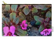Dwarf Purple Monkeyflower In Lava Beds Nmon-ca Carry-all Pouch