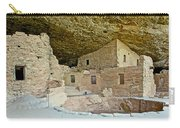 Dwellings In Spruce Tree House On Chapin Mesa In Mesa Verde National Park-colorado  Carry-all Pouch