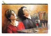 Dylan Moran And Tamsin Greig In Black Books Carry-all Pouch