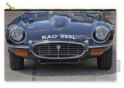 E Type Jaguar V12 Carry-all Pouch