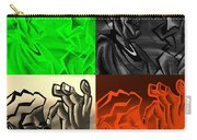 E Vincent Quad Colors Carry-all Pouch