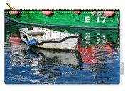 E17 Reflections - Lyme Regis Harbour Carry-all Pouch