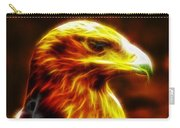 Eagle Glowing Fractal Carry-all Pouch