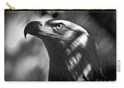 Eagle In Shadows Carry-all Pouch