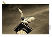 Eagle In Stone Carry-all Pouch