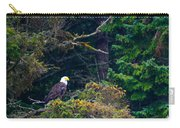 Eagle In Trees  Carry-all Pouch