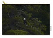 Eagle In White Pine Carry-all Pouch