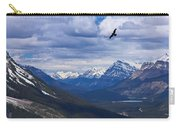 Eagle Over Peyto Lake Carry-all Pouch