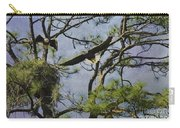Eagle Pair And Nest Carry-all Pouch