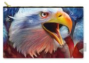 Eagle Red White Blue 2 Carry-all Pouch