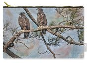 Eaglets In Oil Carry-all Pouch