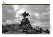 Eakins Oval In Winter Carry-all Pouch by Bill Cannon