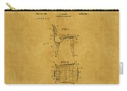 Eames Chair Patent 1 Carry-all Pouch
