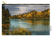 Early Autumn Along The Androscoggin River Carry-all Pouch