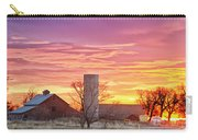 Early Country Morning Sunrise Carry-all Pouch