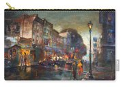 Early Evening In Main Street Nyack Carry-all Pouch