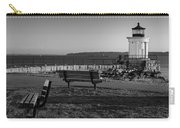 Early Morning At Bug Lighthouse Bw Carry-all Pouch