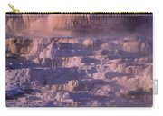 Early Morning Light On Minerva Springs Yellowstone National Park Carry-all Pouch