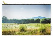 Early Morning Mist In The Valleys And Farmlands Of The Blue Ridge Mountains Carry-all Pouch