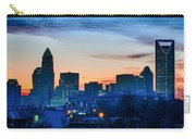 Early Morning Sunrise Over Charlotte City Skyline Downtown Carry-all Pouch