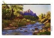 Early Morning Sunrise Zion N.p. Carry-all Pouch